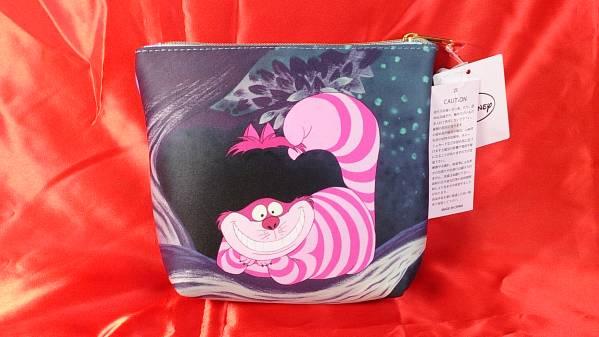 @ Disney 不思議の国のアリス チェシャ猫 ポーチ ◆新品◆ 408 ディズニーグッズの画像
