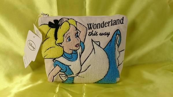 @ ディズニー 不思議の国のアリス ポーチ サガラ刺繍 ☆☆☆412 ディズニーグッズの画像
