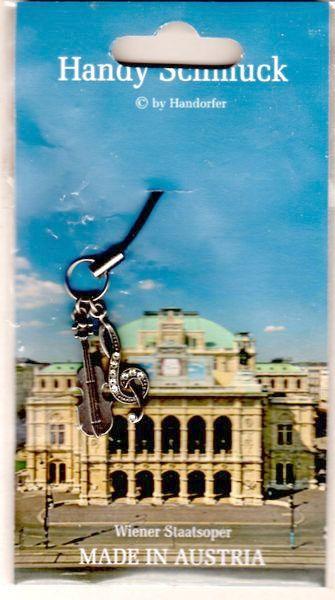 ♪送料無料 ウィーン国立歌劇場 携帯ストラップ オーストリア製