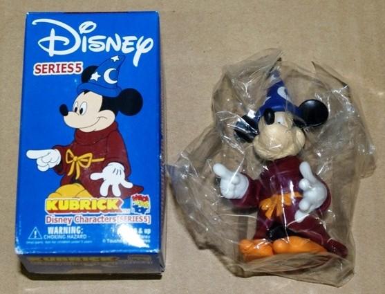 ★2003年製 KUBRICK キューブリック ディズニーキャラクターズ シリーズ5 ミッキー ファンタジア_中身確認のため、箱は開封。