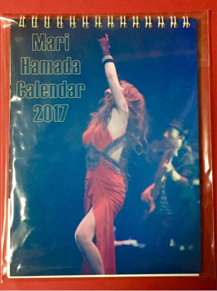 ★新品★浜田麻里★非売品卓上カレンダー 2017★ ライブグッズの画像