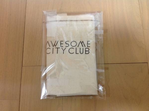Awesome City Club 特典トートバック