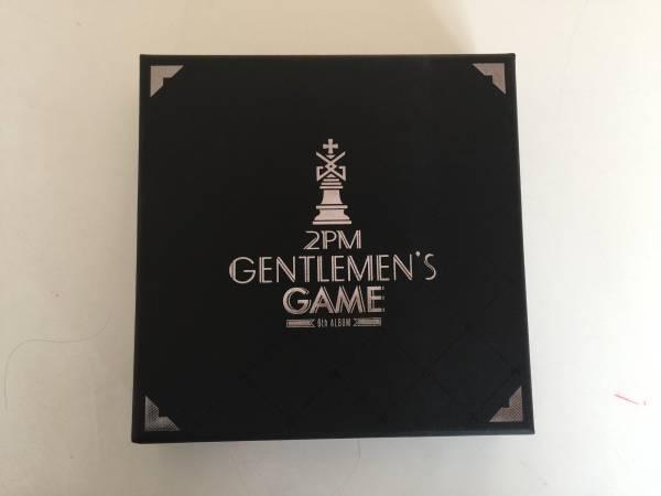2PM 6th ALBUM GENTLEMEN'S GAME☆通常版韓国版ニックンテギョン