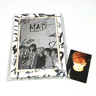 【直筆サイン入・全メンバー】GOT7♪Mini Album『MAD』