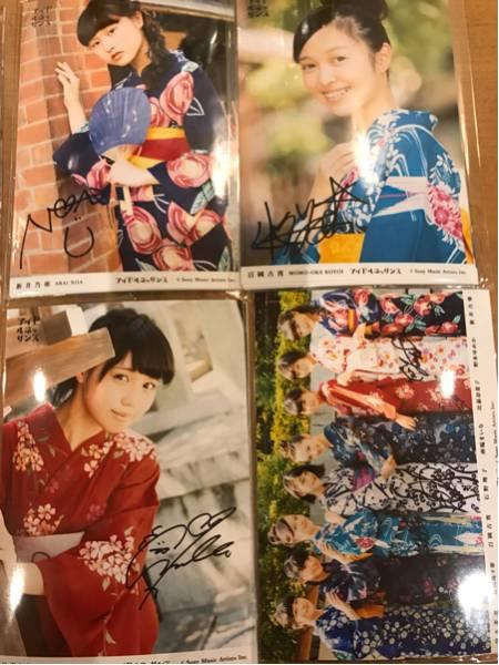アイドルネッサンス生写真 9セット 各1枚ずつサイン入