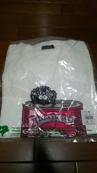 木村カエラ WEB TOUR 2012 武道館限定 ブドウ缶Tシャツ M 新品 ライブグッズの画像