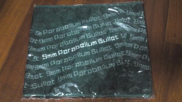9mm Parabellum Bullet マフラータオル 新品 ライブグッズの画像