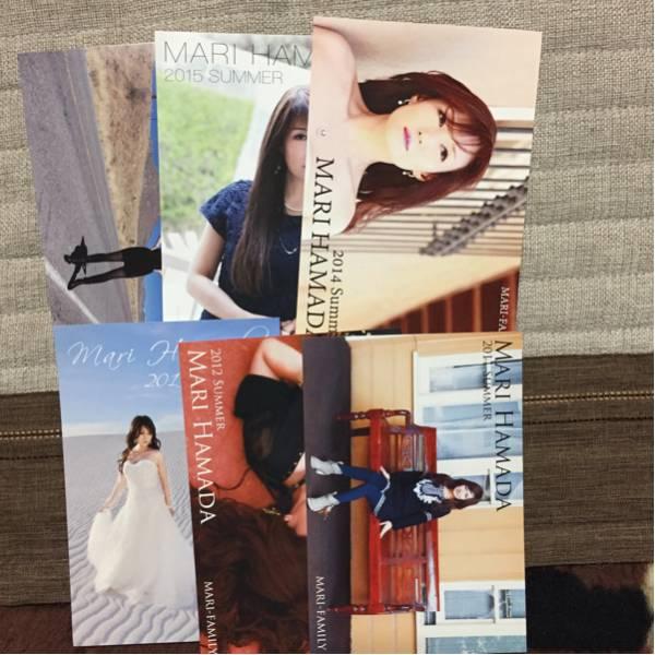 浜田麻里☆非売品☆ポストカード ライブグッズの画像