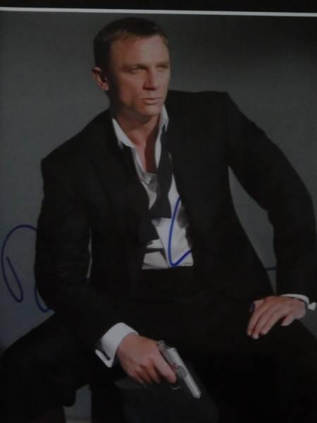 007 ダニエル・グレイグ 直筆サインと証明書