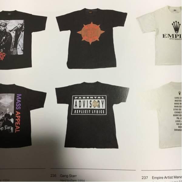 rap tees 掲載 gangstarr gang starr Tシャツ tee beastie 90's