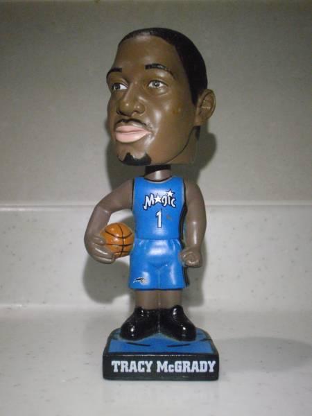 NBA フィギュア トレイシーマグレディ オバマ前大統領付き グッズの画像