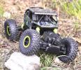 1/18 4WD パワフル オフロード ラジコン RC クローラー ラリー 2.4GHz グリーン 外箱なし