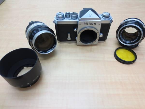 ★Nikon F NIKKOR-P/S F2.5 105mm 1:1.4 50mm★774-A