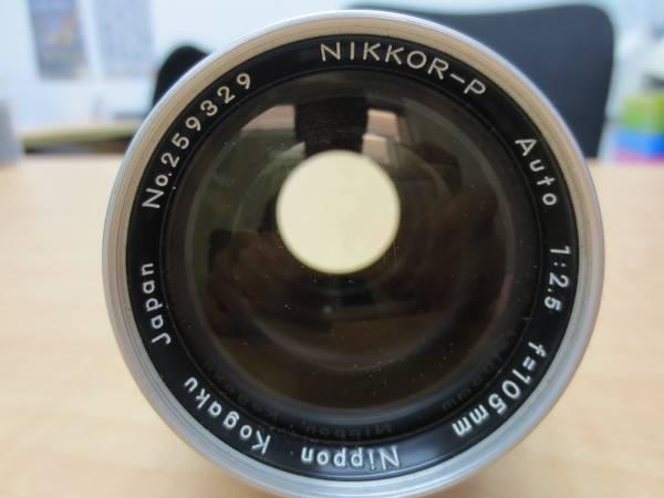 ★Nikon F NIKKOR-P/S F2.5 105mm 1:1.4 50mm★774-A_画像2