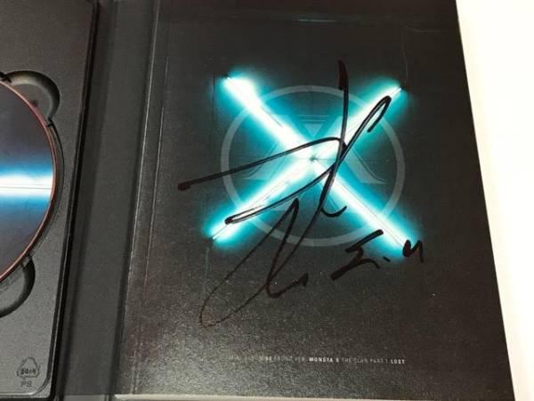 MONSTA X THE CLAN PART.1 LOST 直筆サイン入り CD チャンギュン