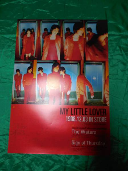 My Little Lover The Waters Sign of Thursday B2サイズポスター