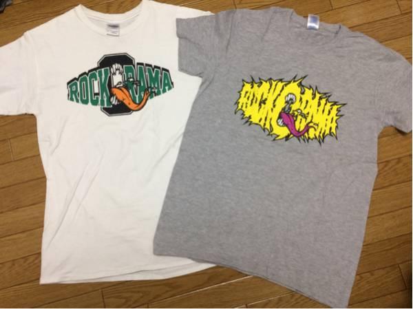 ★レア★非売品FACT 15周年 rock-o-rama Tシャツ2枚セット ライブグッズの画像