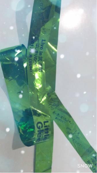 リトグリ Little Glee Monster 武道館 はじまりのうた テープ 緑