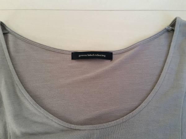 グリンレーベル ドルマン半袖とろみシャツ/カットソー/アローズ/M/女性用/レディース/トップス フリーサイズ 春物