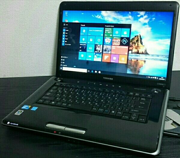 16型美【Win10 Office2013】AC付 dynabook Core2 HDD新品1000G