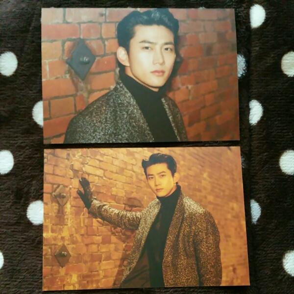 2PM テギョン Seasons Greetings 2017 ポストカード