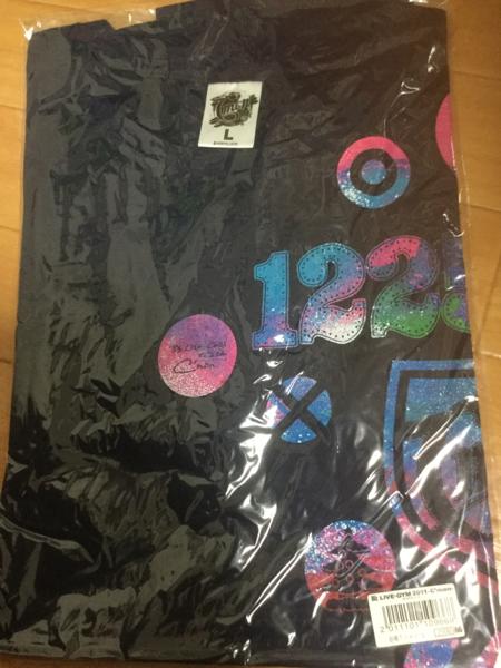 B'z 東京1225限定 Tシャツ LIVE-GYM 2011 C'mon未開封 L