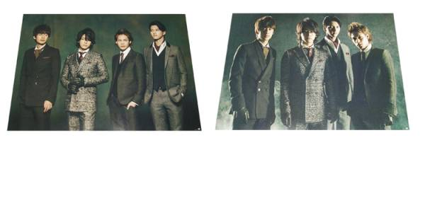 ●KAT-TUN 『Dead or Alive』 CD特典ポスター 2種セット 非売品