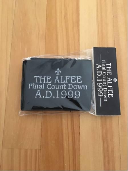 THE ALFEE グッズ リストバンド 1999年 黒