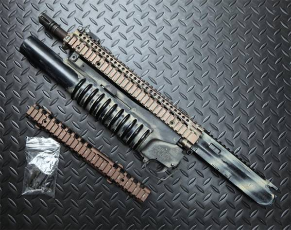次世代M4アッパー MADBULL製DD RIS II 12.25&JAC製M203送料無料