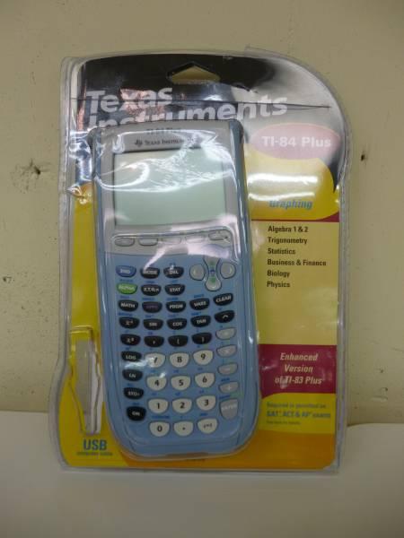 良品 TEXAS INSTRUMENTS グラフ電卓 関数電卓 TI-84Plus_画像2