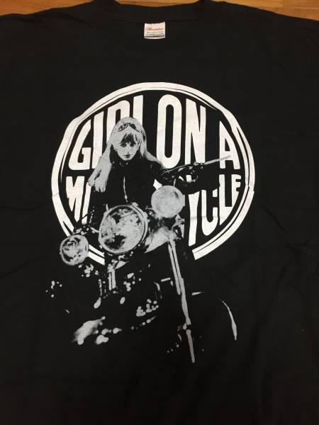 あの胸にもういちど Tシャツ マリアンヌ・フェイスフル アラン・ドロン The Girl On A Motorcycle 峰不二子 ローリング・ストーンズ