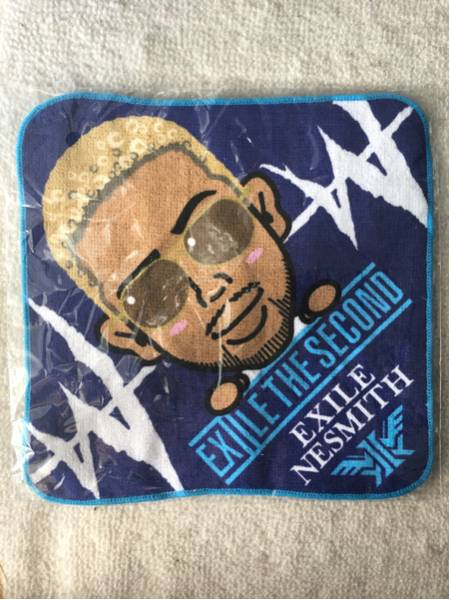 EXILE THE SECOND WWWガチャ ハンドタオル NESMITH