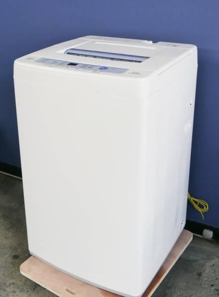 【超美品*2016年製】アクア AQW-S60E(W)洗濯簡易乾燥機(6kg)_画像3