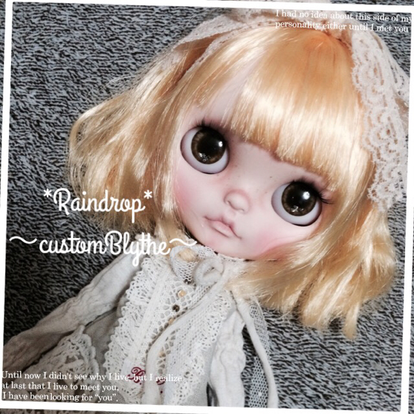 *Raindrop*~custom Blythe~カスタムブライス