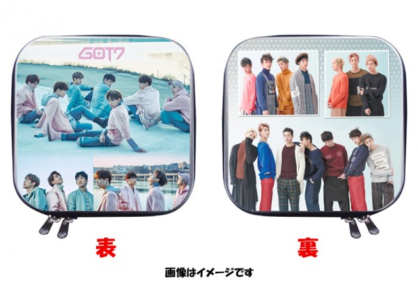 GOT7 ガッセブン 両面写真付き CDケース DVDケース 四角 02