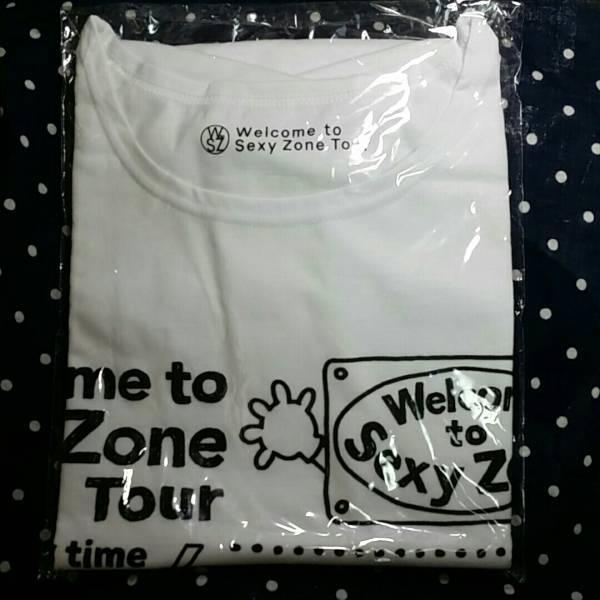 新品 welcome to sexyzone セクゾ Tシャツ 勝利健人風磨 グッズ