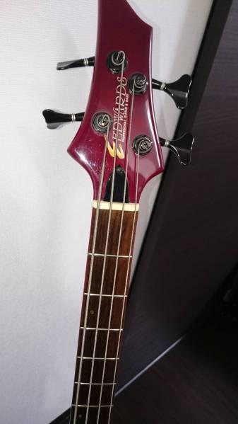 EDWARDS 4弦ベース E-T-98FR tetsuyaモデル 赤