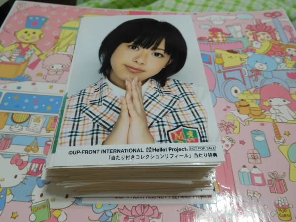℃-ute  有原栞菜 L判サイズ 生写真 200枚セット ライブグッズの画像