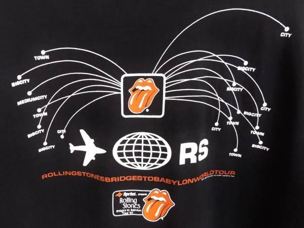 ◆ローリングストーンズ 1997 ブリッジズ・トゥ・バビロン Tシャツ USA アメリカ製 ヴィンテージ ROLLING STONES BRIDGES TO BABYLON TOUR