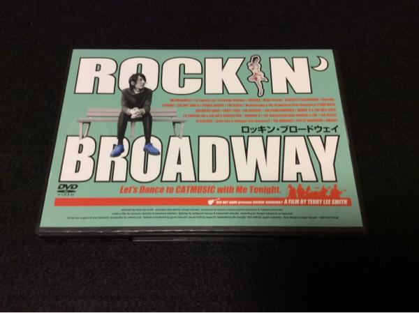 希少/DVD/ROCKIN' BROADWAY/マックショウ/ヒルビリーバップス ライブグッズの画像