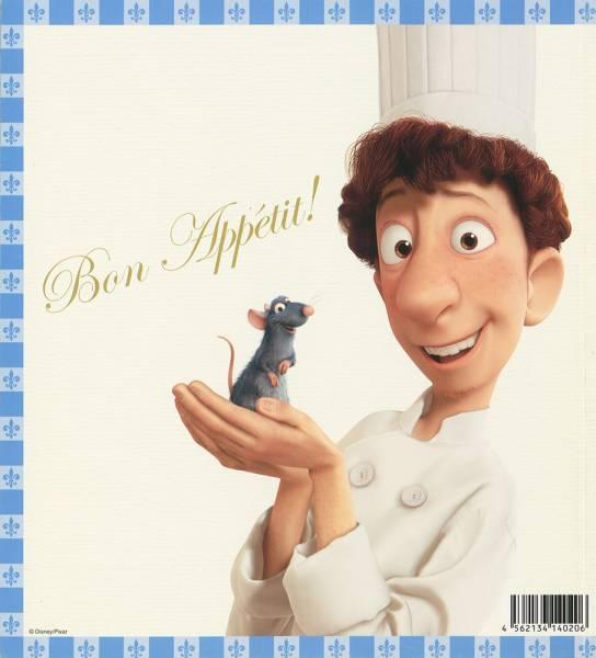 送料無料!映画パンフ_PIXAR「レミーのおいしいレストラン」美品 ディズニーグッズの画像
