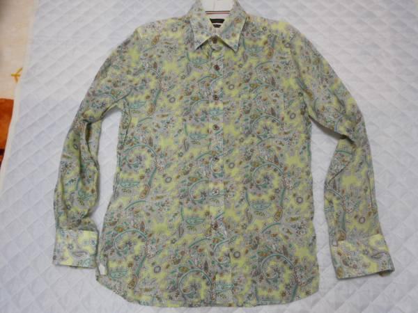 値下げ:SABI SABI DELUX デザインシャツ:サイズ表示48:送料無料