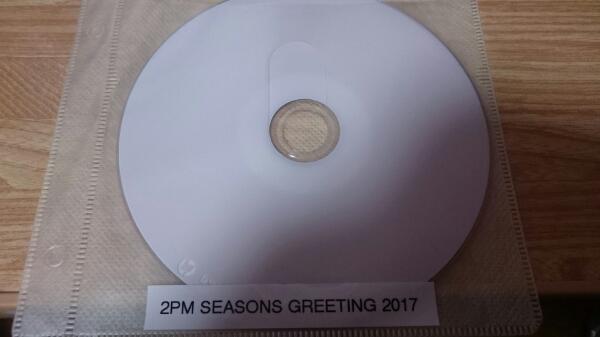 2PM SEASONS GREETING2017 DVD(^^)
