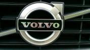 ボルボ★フロントグリルVOLVOブラックエンブレムV40V50V70V60S40