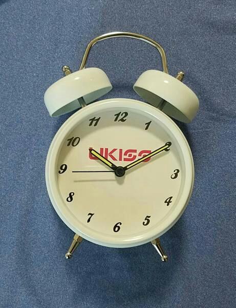 U-KISS ケビン VISAカード景品 目覚まし時計 ライブグッズの画像