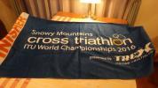 ITUクロストライアスロン世界選手権オーストラリア大会タオル