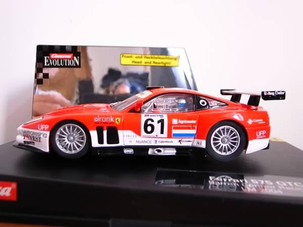 132 Carrera Ferrari 575 Gtc Barron Connor Racing Lm 2004 Real