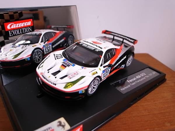 1/32 CARRERA FERRARI 458 GT2 Hankook Team Farnbacher 2011