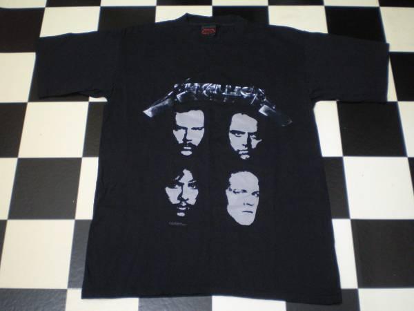 90's METALLICA メタリカ ヴィンテージ Tシャツ Lサイズ ハードロック ヘヴィメタル スラッシュメタル バンド ライブ VINTAGE VTG USA製