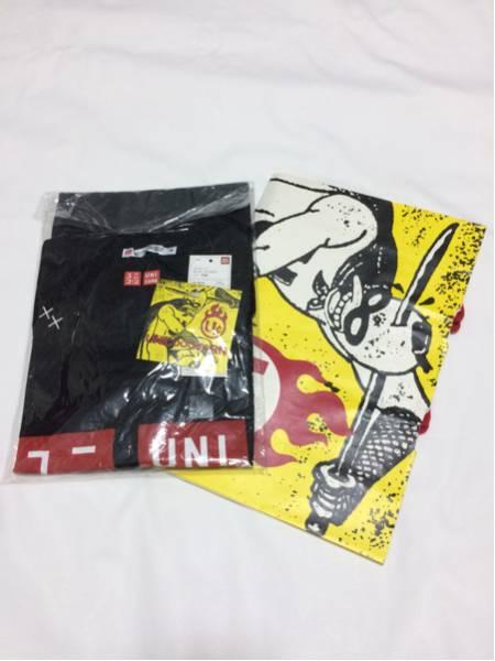 ユニコーン ユニクロ コラボTシャツ 黒 M 紙袋付き グッズ奥田民生 ライブグッズの画像